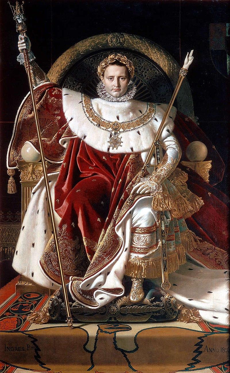 帝座上的拿破仑一世